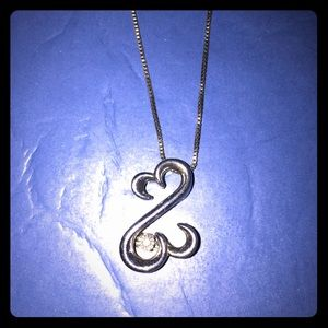 Jewelry - Open Heart Necklace (Kay Jewelers)